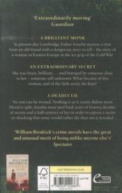 The day of the lie - father anselm novels: book 4 - 4ème de couverture - Format classique