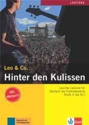 Leo & Co. ; allemand ; A2, B1 ; hinter der kulissen - Couverture - Format classique