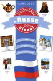 Dictionnaire de russe 100% visuel - Couverture - Format classique