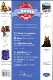 Dictionnaire de russe 100% visuel - 4ème de couverture - Format classique