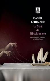 La nuit de l'illusionniste - Couverture - Format classique