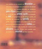 Pain d'epice - 4ème de couverture - Format classique