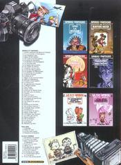 Les aventures de Spirou et Fantasio T.2 ; il y a un sorcier à Champignac - 4ème de couverture - Format classique