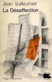 Desaffection (La) Ps48 - Couverture - Format classique