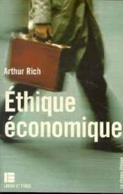 Éthique économique - Couverture - Format classique