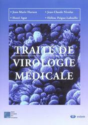 Traite De Virologie Medicale - Intérieur - Format classique