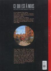 Ce qui est a nous ; première époque t.5 ; ticket gagnant - 4ème de couverture - Format classique
