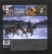 La Corse ; randonnées à cheval - 4ème de couverture - Format classique