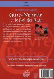 Casse-noisette et le roi des rats - 4ème de couverture - Format classique