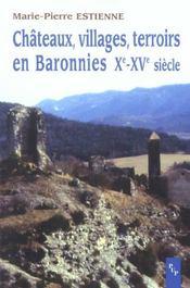 Châteaux, villages, terroirs en Baronnies, Xe-XVe siècle - Intérieur - Format classique