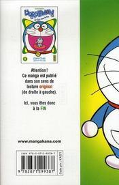 Doraemon t.2 - 4ème de couverture - Format classique