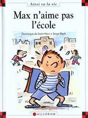Max n'aime pas l'école - Intérieur - Format classique