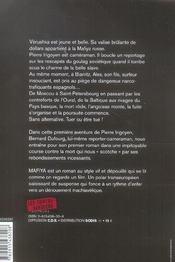 Mafiya - 4ème de couverture - Format classique
