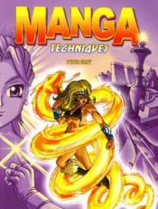 Manga ; techniques - Couverture - Format classique