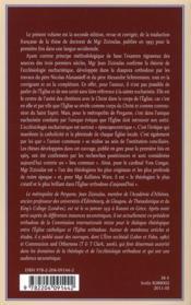 L'eucharistie l'évêque et l'église durant les trois premiers siècles - 4ème de couverture - Format classique