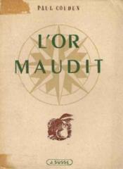 L'or maudit - Couverture - Format classique