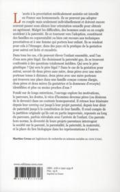 Choisir La Paternite Gay - 4ème de couverture - Format classique
