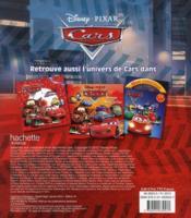 Archi Mega Colo ; Cars - 4ème de couverture - Format classique