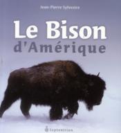 Le bison d'Amérique - Couverture - Format classique