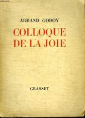 Colloque De La Joie. - Couverture - Format classique