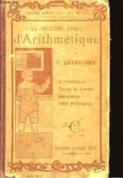 La deuxième année d'arithmétique - Couverture - Format classique