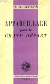 Appareillage Pour Le Grand Depart - Couverture - Format classique