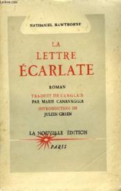 La Lettre Ecarlate - Couverture - Format classique