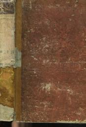 De La Recherche De La Verite. Tome I. - Couverture - Format classique