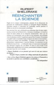 Réenchanter la science - 4ème de couverture - Format classique