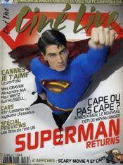 Cine Live - N° 102 - Superman Returns - Couverture - Format classique