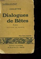 Dialogue De Betes - Couverture - Format classique