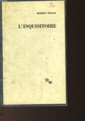 L'Inquisitoire - Couverture - Format classique
