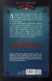 Folle histoire t.1 ; les aristos du crime - 4ème de couverture - Format classique