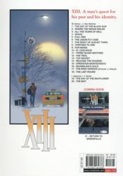 XIII T.20 ; the bait - 4ème de couverture - Format classique