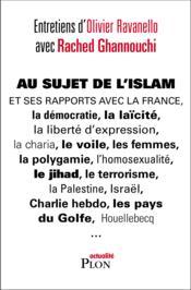 Au sujet de l'Islam - Couverture - Format classique