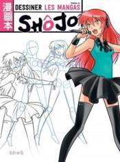 Dessiner des mangas shôjo - Couverture - Format classique