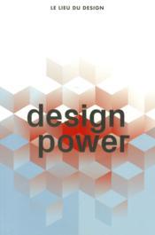Design power - Couverture - Format classique