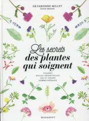 Les plantes qui soignent ; les secrets bien-être des herboristes - Couverture - Format classique