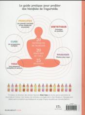 Le grand guide de l'Ayurveda - 4ème de couverture - Format classique
