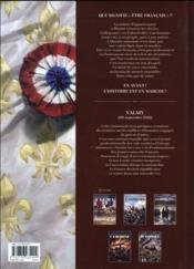 Champs d'honneur T.1 ; Valmy ; septembre 1792 - 4ème de couverture - Format classique