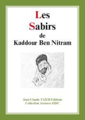 Les sabirs de Kaddour Ben Nitram - Couverture - Format classique