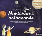 Mon coffret Montessori astronomie - Couverture - Format classique