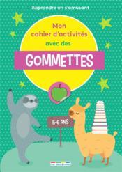 Mon cahier d'activités avec des gommettes ; GS - Couverture - Format classique