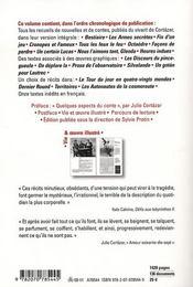 Nouvelles, histoires et autres contes - 4ème de couverture - Format classique