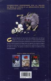 Bone t.1 ; la forêt sans retour - 4ème de couverture - Format classique