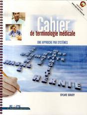 Cahier de terminologie médicale - Intérieur - Format classique