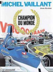 Michel vaillant t.26 ; champion du monde - Couverture - Format classique
