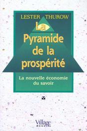 La pyramide de la posperite ; la nouvelle economie du savoir - Intérieur - Format classique