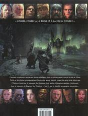 Le seigneur des anneaux ; le retour du roi ; le guide officiel du film - 4ème de couverture - Format classique