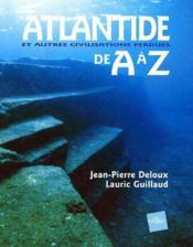 L'Atlantide De A A Z - Couverture - Format classique